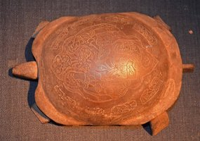 Exceedingly Rare Heian or Nara Period Bronze Tortoise