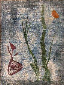Rare Image by Japanese Print Artist, Saito Kiyoshi