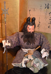 Meiji Period Musha Ningyo Doll of Emperor Jimmu