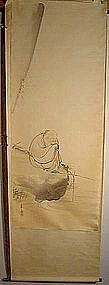 Taikobo by Ogata Getsuzan, son of Ogata Gekko