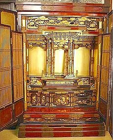 Very Fine, Museum Quality Butsudan, Buddhist Altar