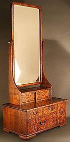 Rare Very Large 19th Century Japanese Mirror Chest