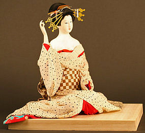 Oiran Ningyo by Court Doll Maker Ito Hisashige XI